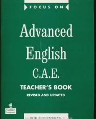 Focus on Advanced English C.A.E. Teacher's Book