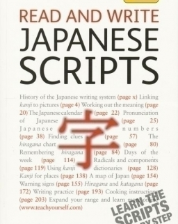 Teach Yourself - Read and Write Japanese Scripts