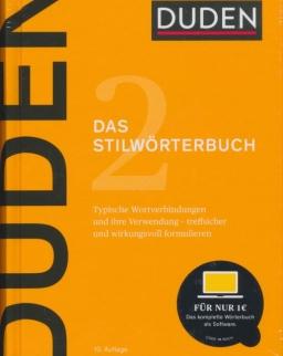 Duden - Das Stilwörterbuch: Feste Wortverbindungen und ihre Verwendung 10. Auflage