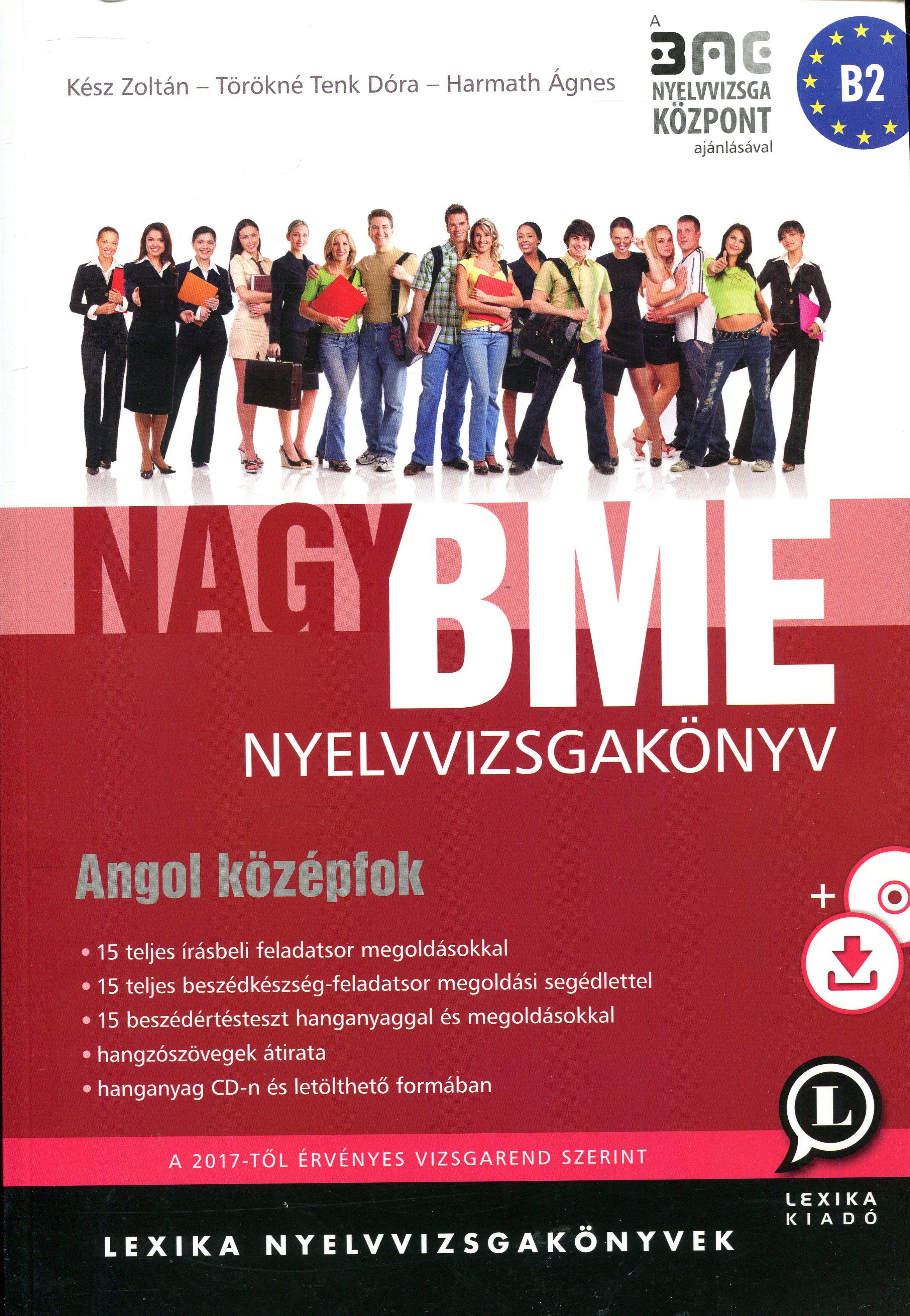 Nagy Bme Nyelvvizsgakönyv Angol Középfok, Írásbeli + Mp3