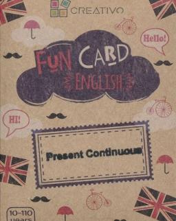 Fun Card English: Present Continuous