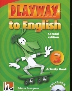 Playway to English - 2nd Edition - 3 Activity Book with CD-ROM