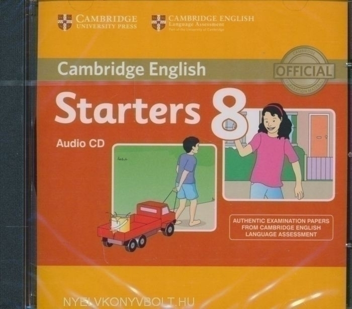 Cambridge English Starters 8 Audio CD