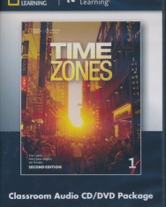 Time Zones 1 Classroom Audio CD & DVD -  2nd Edition