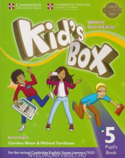 Kid's Box Second Edition Updated 5 Pupil's Book