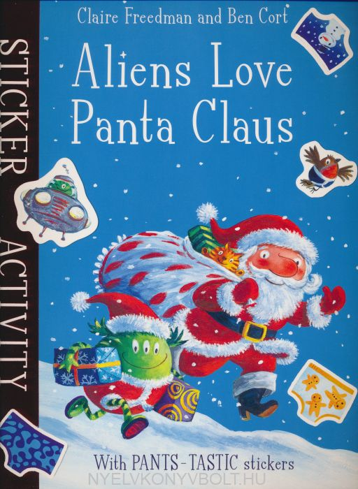 Aliens Love Panta Claus - Sticker Activity