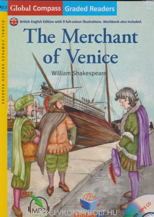 The Merchant of Venice with MP3 Audio CD- Global ELT Readers Level A2.2