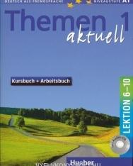 Themen Aktuell 1 Kursbuch und Arbeitsbuch Lektion 6-10 mit CD-ROM