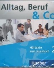 Alltag, Beruf & Co. 2 Audio CD zum Kursbuch