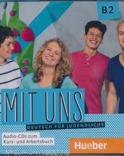 Mit Uns B2 Audio CD zum Kurs- und Arbeitbuch. Deutsch für Jugendliche