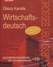 Wirtschaftsdeutsch - új átdolgozott kiadás - mit Lösungsschlüsseln und Audio CD
