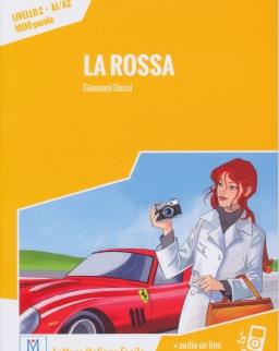 La Rossa + Audio On Line  (Livello 2 - A1/A2 - 1000 parole)