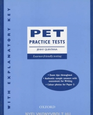 PET Practice Tests with Explanatory Key
