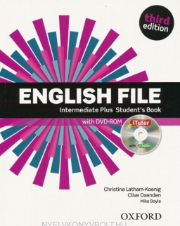 English File - 3rd Edition - Intermediate Plus Student's Book with iTutor DVD-Rom