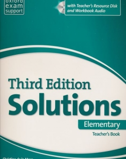 Solutions 3rd Edition Elementary Teacher's Book with Teacher's Resource Disc and Workbook Audio