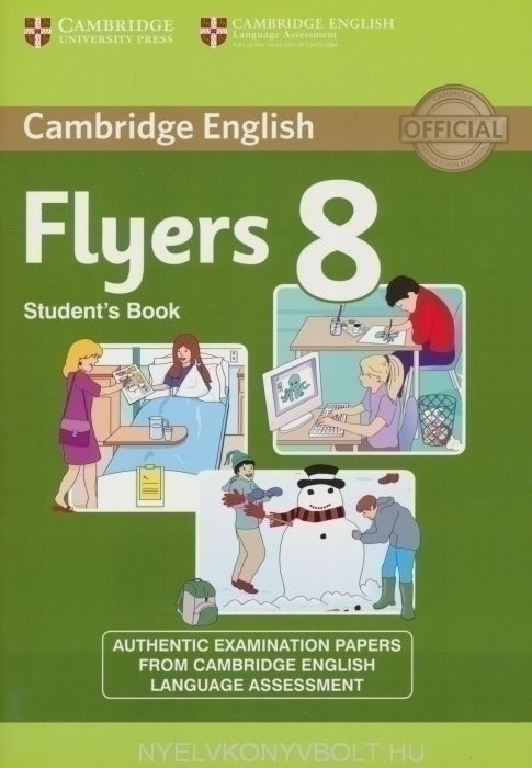 Cambridge English Flyers 8 Student's Book