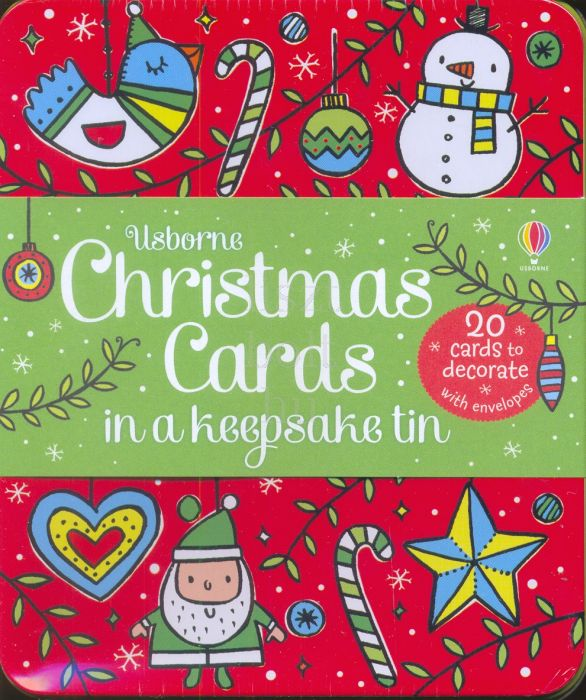 Christmas Cards in a Keepsake Tin