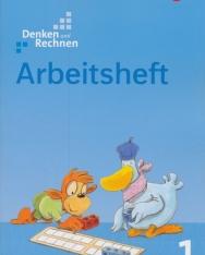 Denken und Rechnen 1 Arbeitsheft - Allgemeine Ausgabe