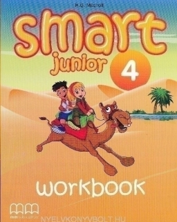 Smart Junior 4 Workbook + CD-ROM