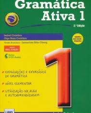Gramática Ativa 1 - 2.a Ediçao (Livro segundo o novo Acordo Ortográfico) - inclui 3 CD Áudio