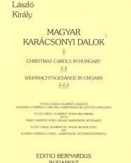 Király László: Magyar karácsonyi dalok (fuvola/oboa/klarinét/hegedű és zongora/orgona/csembaló)