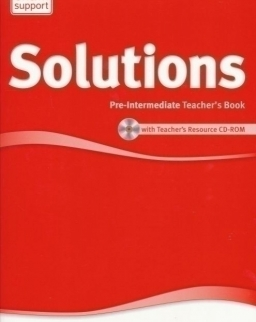 Solutions Pre-Intermediate 2nd Edition Teacher's Book with CD-ROM