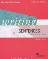 Writing Sentences Student book