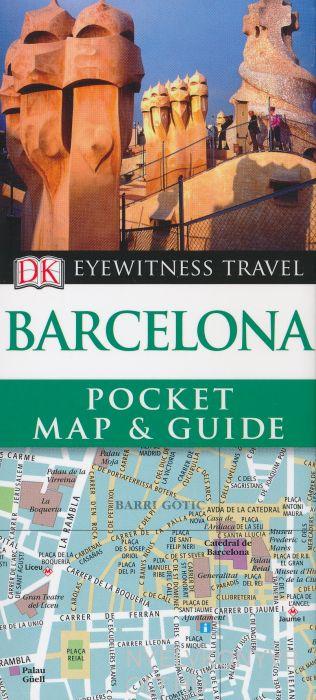 DK Eyewitness Pocket Map and Guide - Barcelona