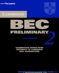 Cambridge BEC Preliminary 2 Official Examination Past Papers Student's Book with Answers and Audio CD Self-Study Pack