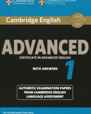 Cambridge English Advanced Certificate in Advanced English with Answers 1