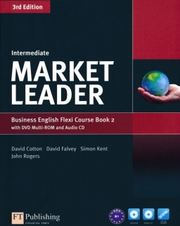 Market Leader - 3rd Edition - Intermediate Flexi 2 Course Book with DVD Multi-ROM and Audio CD