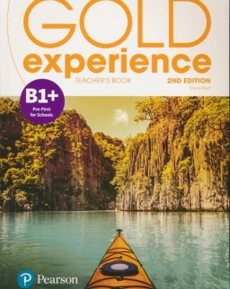 Gold Experience (2nd Edition) B1+ Pre-First for Schools Teacher's Book with Online Practice & Online Resources