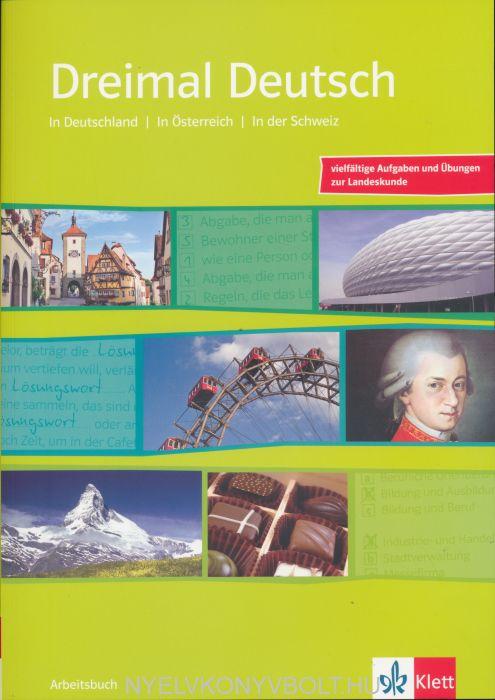 Dreimal Deutsch Arbetisbuch mit Audio CD