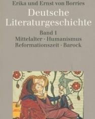 Deutsche Literaturgeschichte Band 1