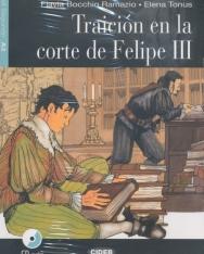 Traición en la corte de Felipe III con Audio CD - BLack Cat Leer y Aprender A2
