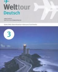 Welttour Deutsch 3 Arbeitsbuch mit Audio Cd