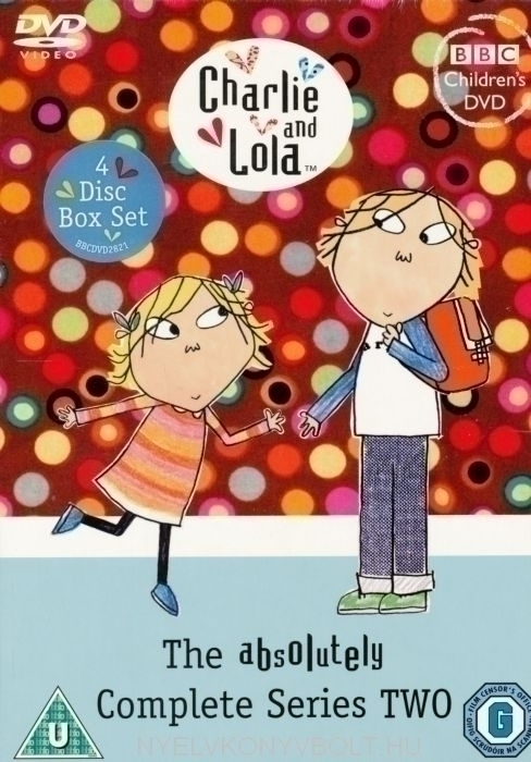 Charlie and Lola - The Absolutely Complete Series Two DVDs (4 Disc Box Set)