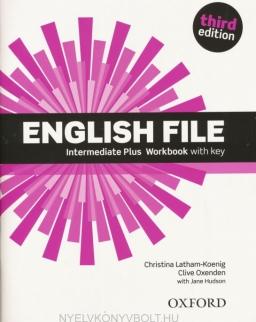 English File - 3rd Edition - Intermediate Plus Workbook with Key