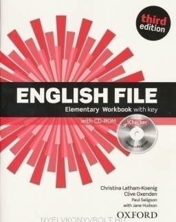 English File - 3rd Edition - Elementary Workbook with key + CD-ROM with Itutor