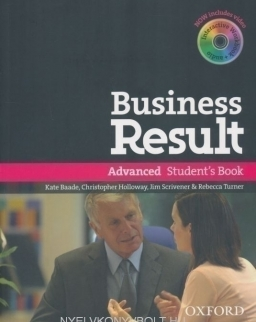 Business Result Advanced Student's Book with DVD-Rom + Interactive workbook
