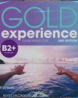 Gold Experience 2nd Edition Level B2+ Class Audio CDs