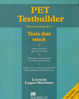 PET Testbuilder with Answers and Audio CD