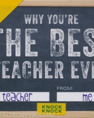 Knock Knock Why You're the Best Teacher Ever - Fill in the Love Journal
