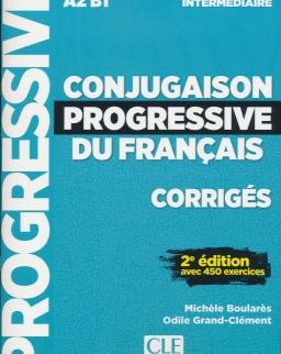 Conjugaison progressive du francais - Niveau intermédiaire - Corrigés - 2e édition