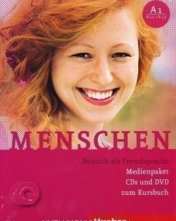 Menschen A1 Medienpaket CDs und DVD zum Kursbuch
