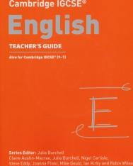 Cambridge IGCSE™ English Teacher's Guide (Collins Cambridge IGCSE™)