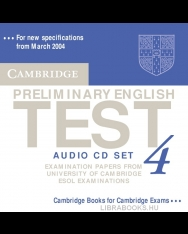 Cambridge Preliminary English Test 4 Official Examination Past Papers 2nd Edition Audio CDs (2)
