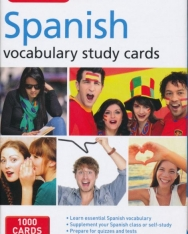 Berlitz Spanish Study Cards