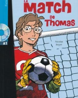 Lire en Français Facile: Le match de Thomas (1CD audio)