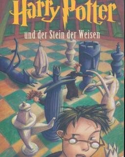 J. K. Rowling: Harry Potter und der Stein der Weisen (Harry Potter és a bölcsek köve - német nyelven)